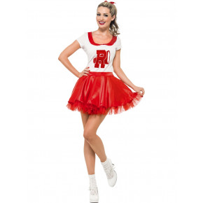 GREASE kostume | Sandy som Cheerleader