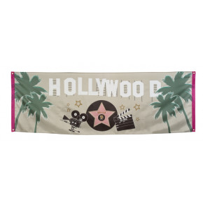 Hollywood Banderoll - Hollywood dekoration