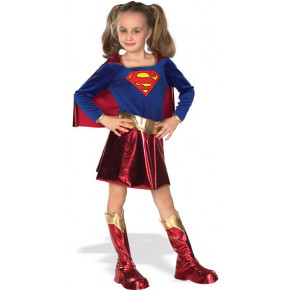 Delux: Super Girl kostume, barn