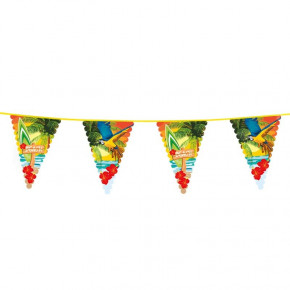 Beach Party Vimpel Guirlande, 6M