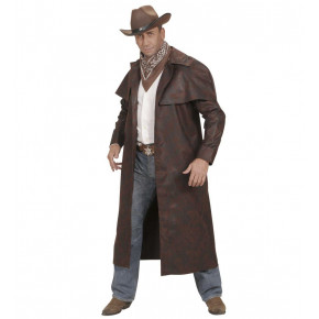 Brun Duster Coat, Bounty Hunter Kostume