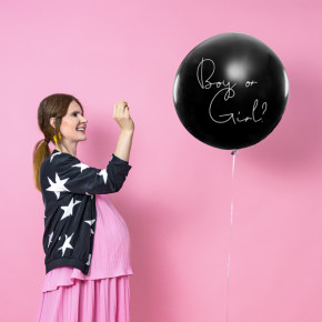 Gigant Ballon, Gender Reveal, Boy or Girl? Pige