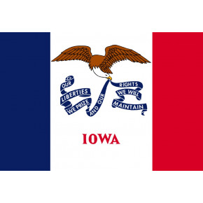 Iowa flagg