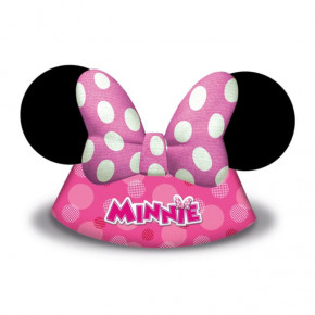 """Minnie Mouse """"Happy Helpers"""" Party Hatte, 6 stk."""