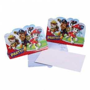Paw Patrol invitationer