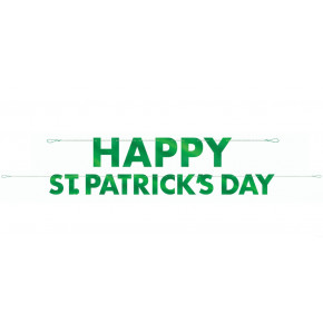 """Happy Skt. Patrick Day"" Guirlande"