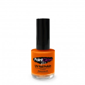 Neon Orange UV Neglelak med 10ml