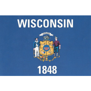 Wisconsin flagg