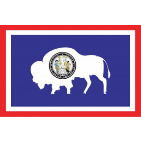 Wyoming flagg